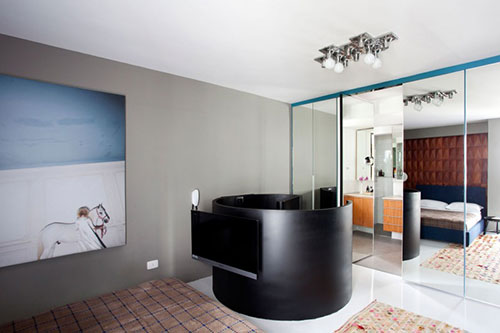 Design slaapkamer in klein appartement slaapkamer idee n - Klein slaapkamer design ...