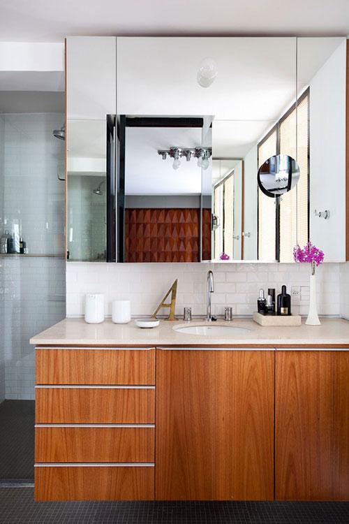 Design slaapkamer in klein appartement