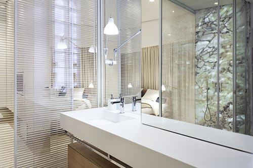 Design slaapkamer van loft appartement slaapkamer idee n - Moderne design slaapkamer ...