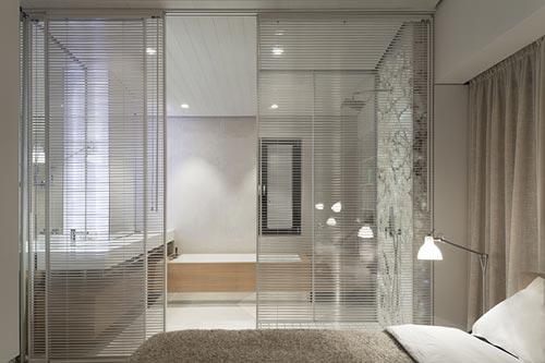 Design slaapkamer van loft appartement  Slaapkamer ideeën
