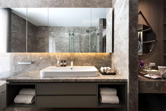 Deze luxe slaapkamer lijkt op de kamer van een luxe hotel slaapkamer idee n - Muurbekleding houten badkamer ...