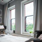 Deze slaapkamer is erg leuk en creatief ingericht!