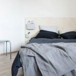 DIY houten bedwand
