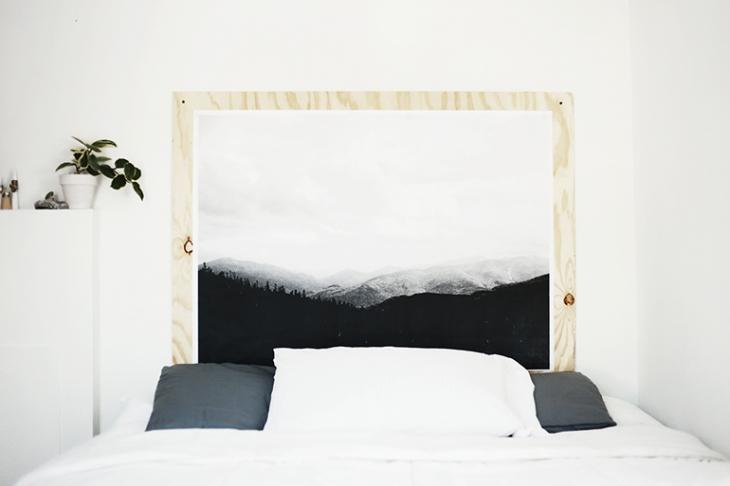 http://www.slaapkamer-ideeen.nl/wp-content/uploads/diy-underlayment-muurdecoratie-boven-bed.jpg