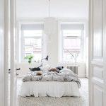 Dromerige slaapkamer in Scandinavisch appartement in Götheborg
