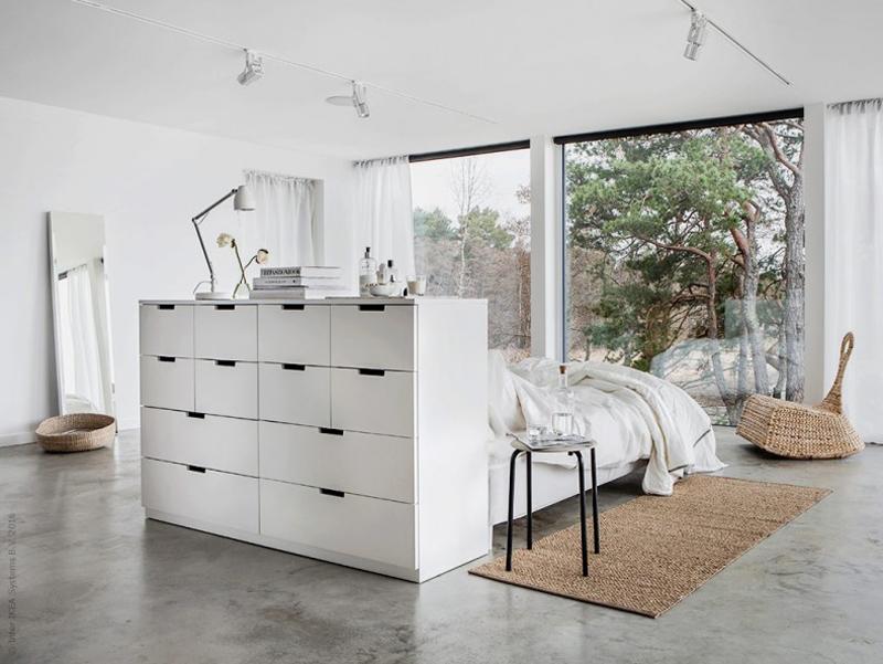 Droom slaapkamer met IKEA kasten