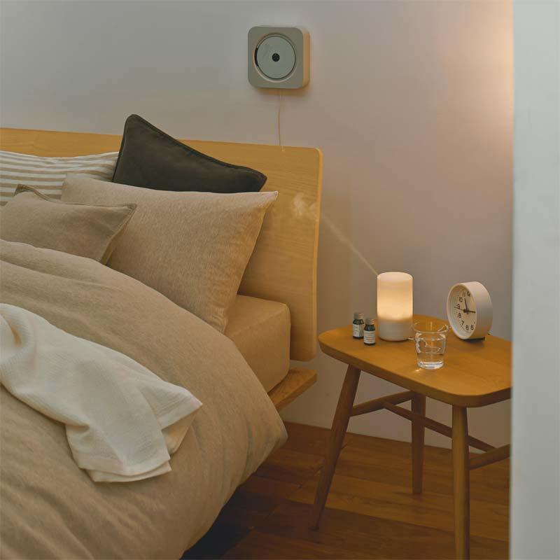 duurzame slaapkamer tips aroma diffuser