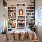 Eclectische slaapkamer uit New York