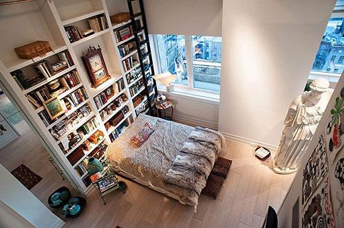 Ouderwetse slaapkamer : Eclectische slaapkamer uit New York Slaapkamer ...