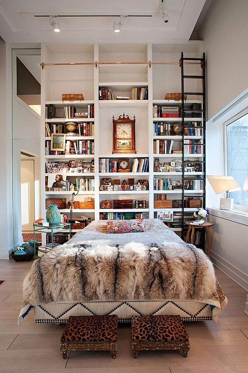 Eclectische slaapkamer uit New York   Slaapkamer idee u00ebn