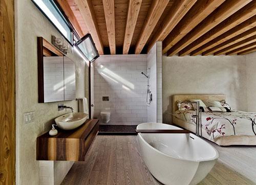 Ecologische rustieke slaapkamer slaapkamer idee n - Italiaanse badkamer ...