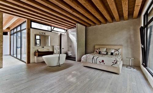 Ecologische rustieke slaapkamer | Slaapkamer ideeën