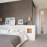 Elegante grijze slaapkamer