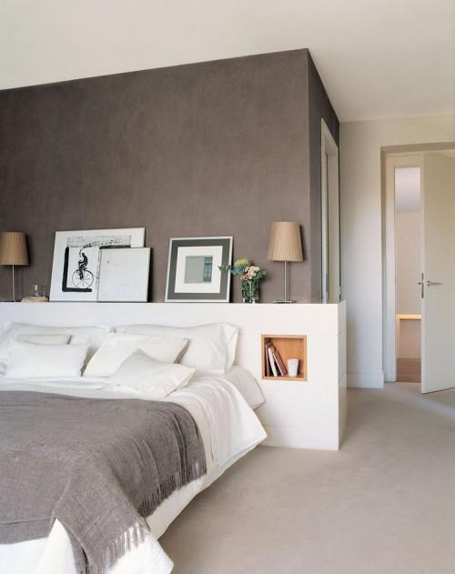 Elegante grijze slaapkamer slaapkamer idee n - Grijze slaapkamer ...