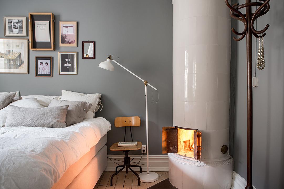 Sfeervolle slaapkamer met mooie styling  Slaapkamer ideeën
