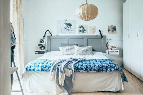 Zweedse Slaapkamer : Slaapkamer van Zweedse ontwerper Emma Von ...