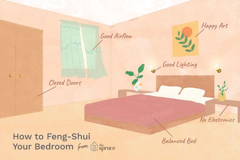 7x Tips voor het inrichten van een feng shui slaapkamer