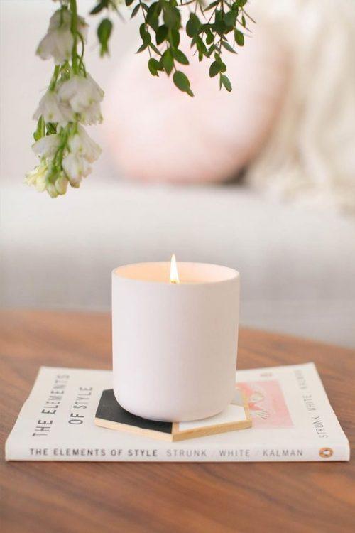 Feng shui slaapkamer verlichting kaarsen