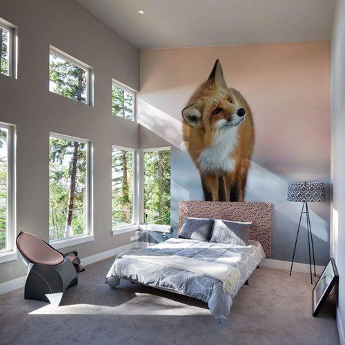 Fotobehang in de slaapkamer  Slaapkamer ideeën