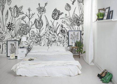 Fotobehang Voor De Slaapkamer : Fotobehang in de slaapkamer Slaapkamer ...