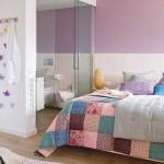 Frisse zomerse slaapkamer