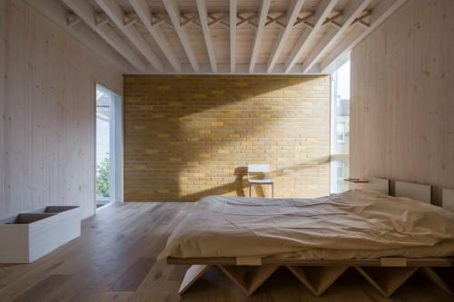 Slaapkamer Ideeen Hout : Gebruik van hout in stoere slaapkamer ...