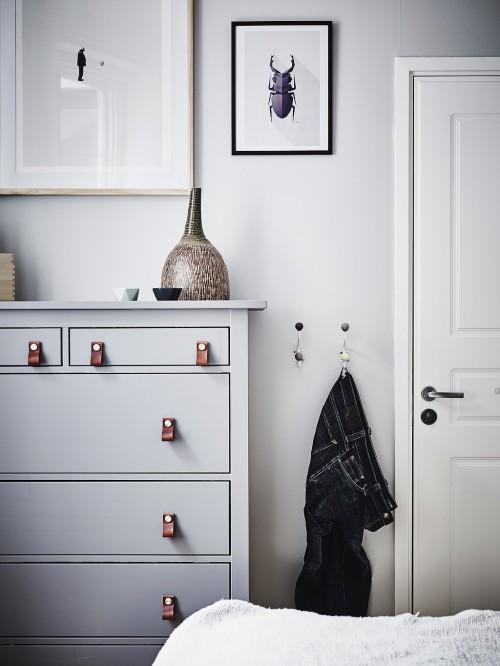 Gepimpte Scandinavische slaapkamer