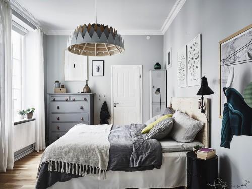 Kleuren Slaapkamer 2016 : Gepimpte Scandinavische slaapkamer ...
