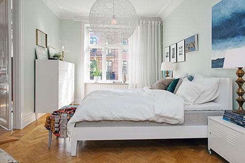 Gezellig ingerichte slaapkamer