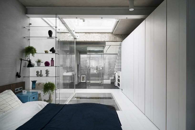 Glas In Slaapkamer : Stoere transparante slaapkamer badkamer combinatie slaapkamer ideeën