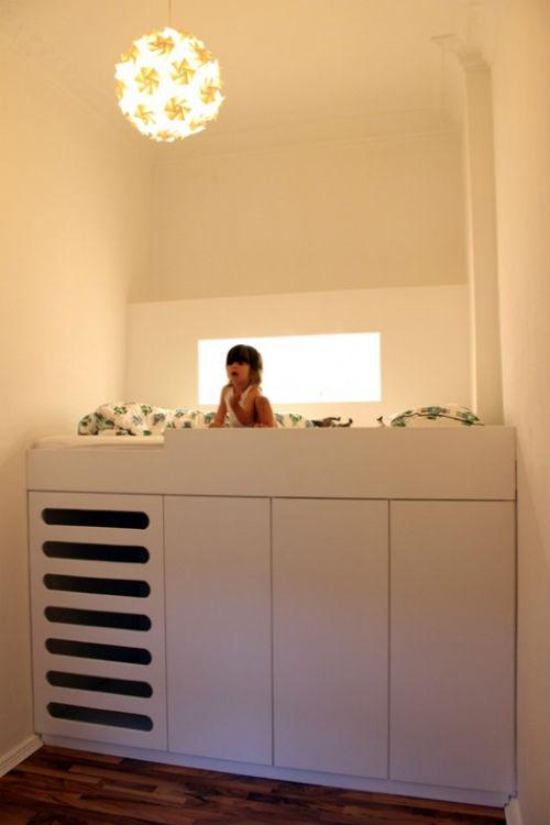 Goed idee voor een kleine kinderkamer slaapkamer idee n - Kinderkamer ruimte ...