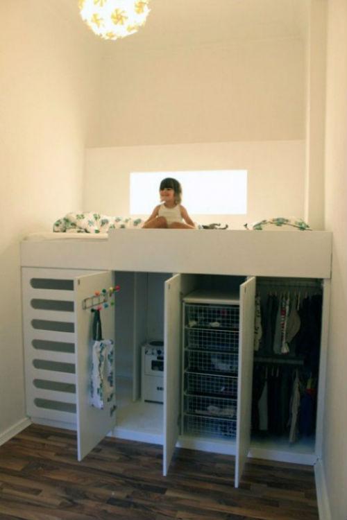 Ideeen Kleine Kinderkamer.Goed Idee Voor Een Kleine Kinderkamer Slaapkamer Ideeen