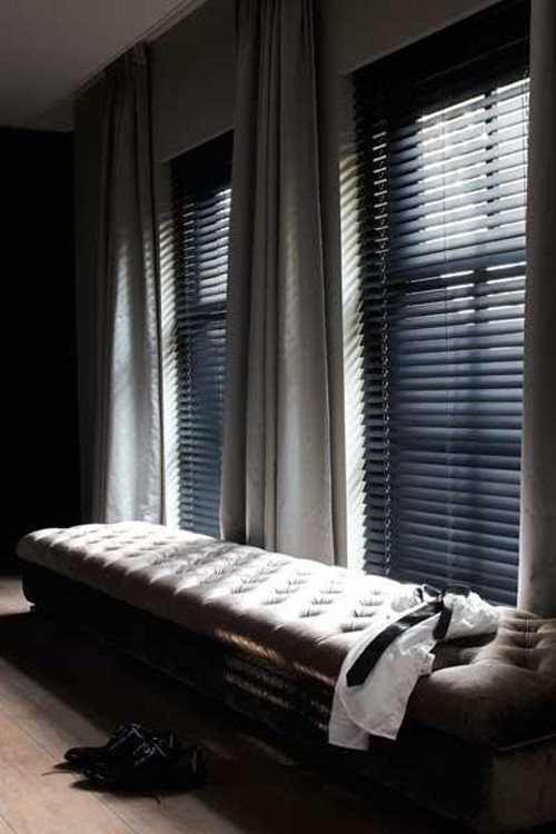Gordijnen slaapkamer ideeën
