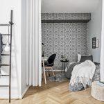 Gordijnen als slaapkamer deur