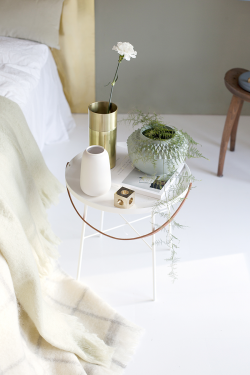 Gouden hoofdsteun | Slaapkamer ideeën