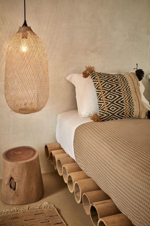 Griekse bohemian slaapkamer