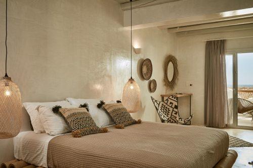 Slaapkamer Met Bruintinten : Griekse bohemian slaapkamer Slaapkamer ...
