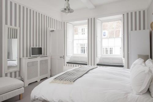 Slaapkamer Behang Ideeen : Slaapkamer van B&B The Laindons Boutique ...