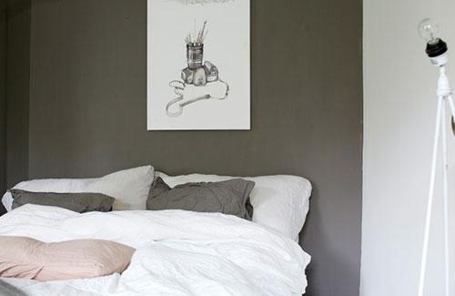 Grijze slaapkamer inspiratie  Slaapkamer ideeën