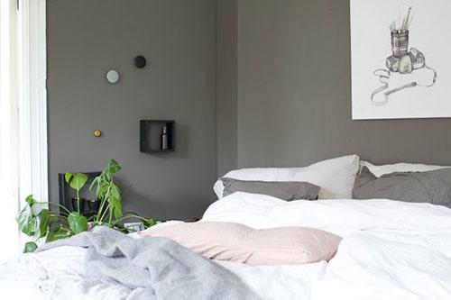 grijze slaapkamer inspiratie