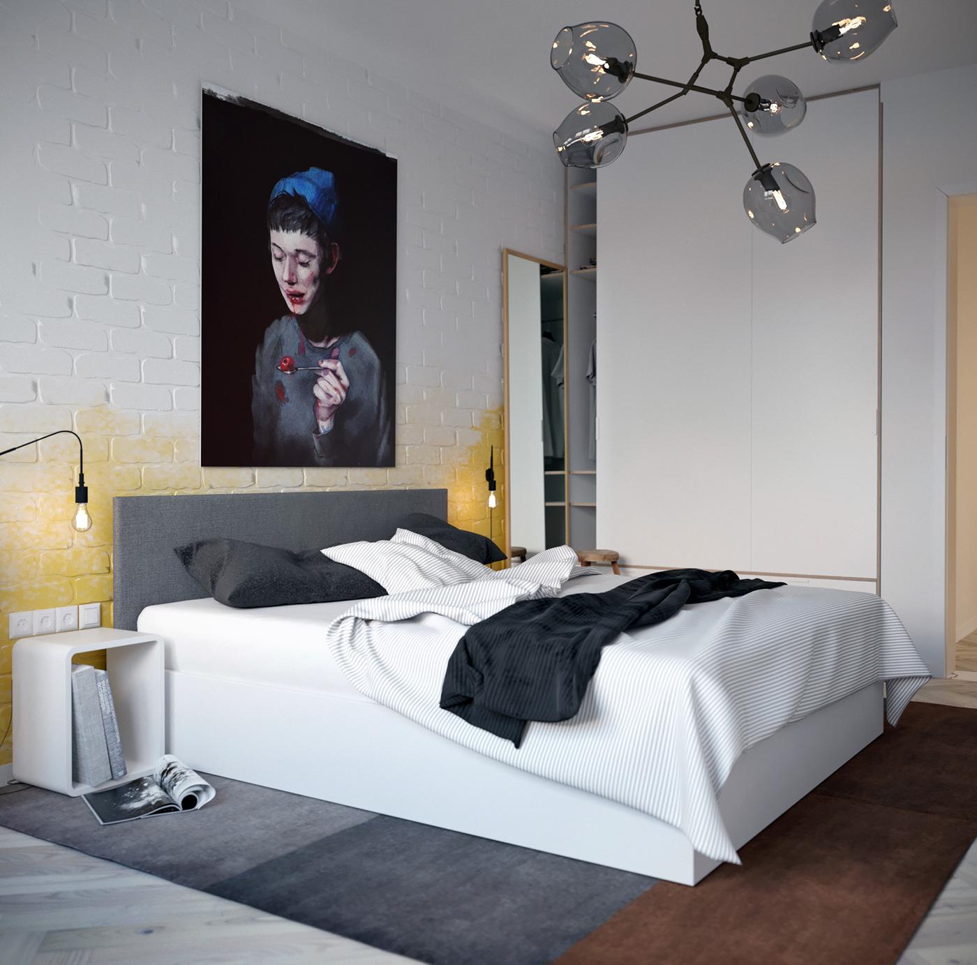 grote-vloerkleed-onder-bed