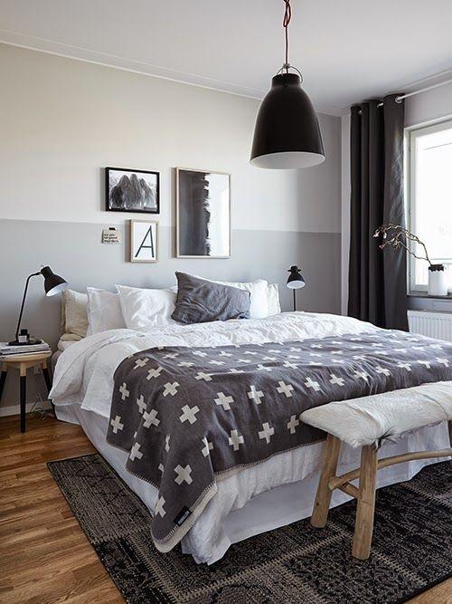 Slaapkamer Muur Kleuren: Meer dan ideeën over bruine muren op ...
