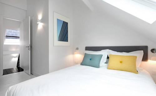 Nog een witte slaapkamer van happy guest house - Geschilderd slaapkamer model ...