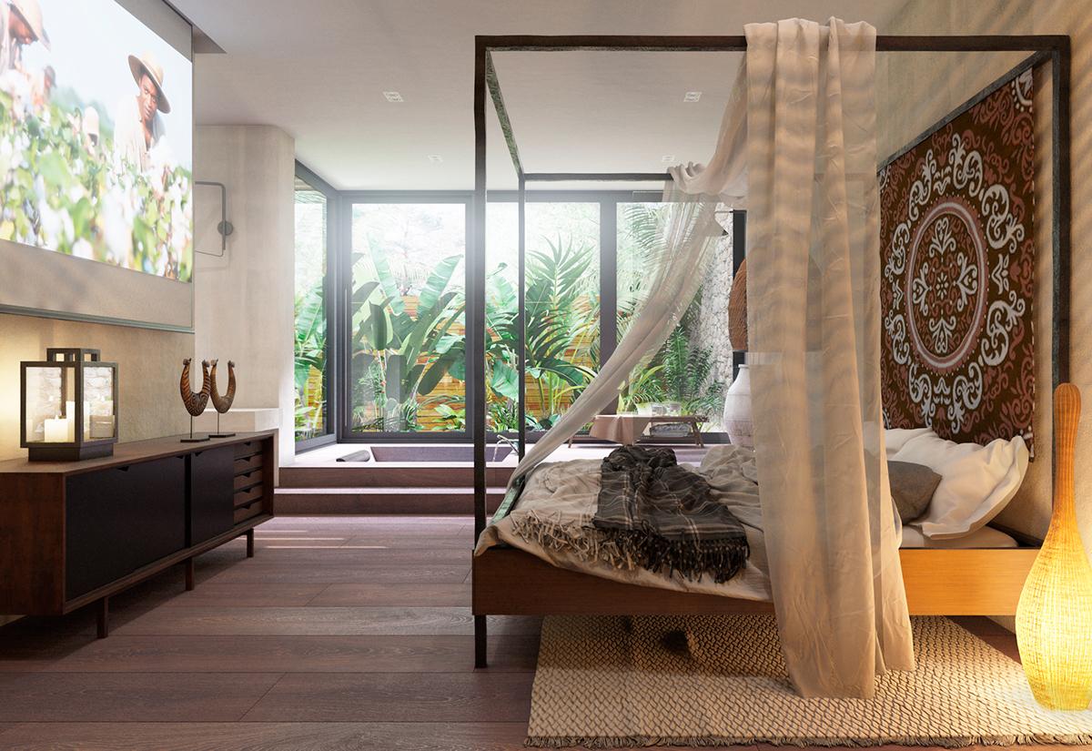 Modern hemelbed simple moderne lichte slaapkamer alyssa kapito