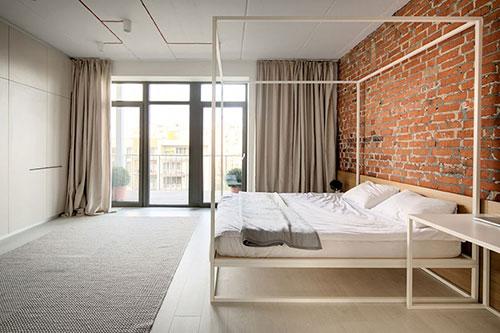 Loft Slaapkamer : open slaapkamer in een hip eenkamerappartement loft ...