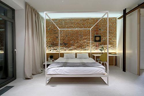 Hippe slaapkamer voor een jong stel   Slaapkamer ideeën