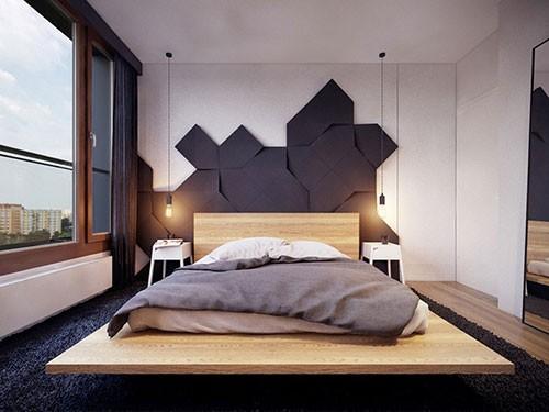Slaapkamer Ideeen Zwart Bed : Hout en zwart in de slaapkamer ...