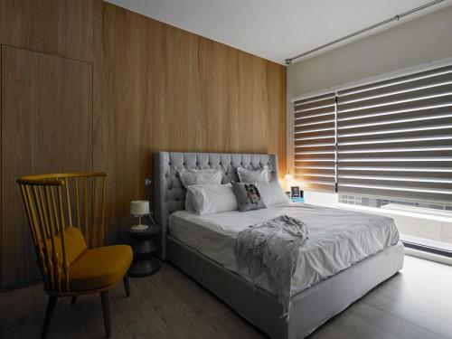 Houten Slaapkamer Muur : Staal en hout in de slaapkamer Slaapkamer ...