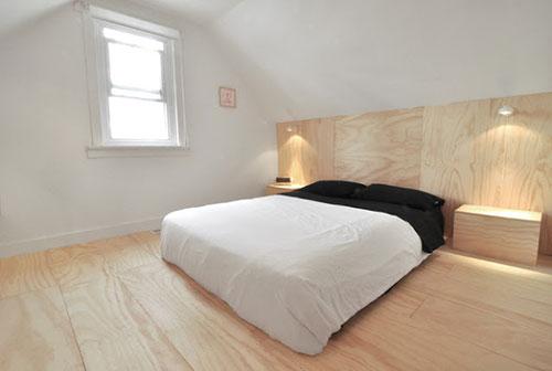 steigerhout muur slaapkamer  consenza for ., Meubels Ideeën
