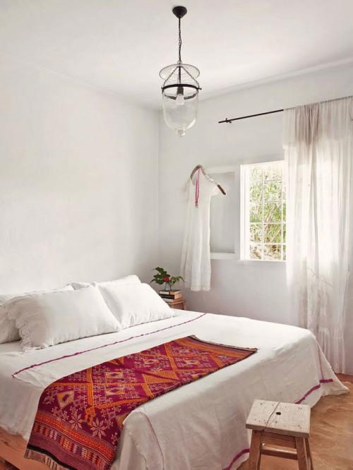 Een Ibiza slaapkamer | Slaapkamer ideeën